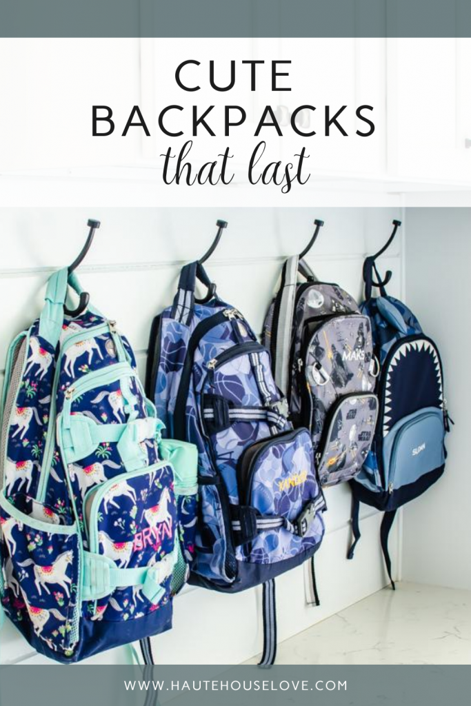 Clean Out Backpacks