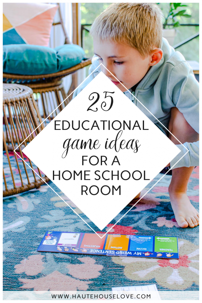 Educational Game Ideas