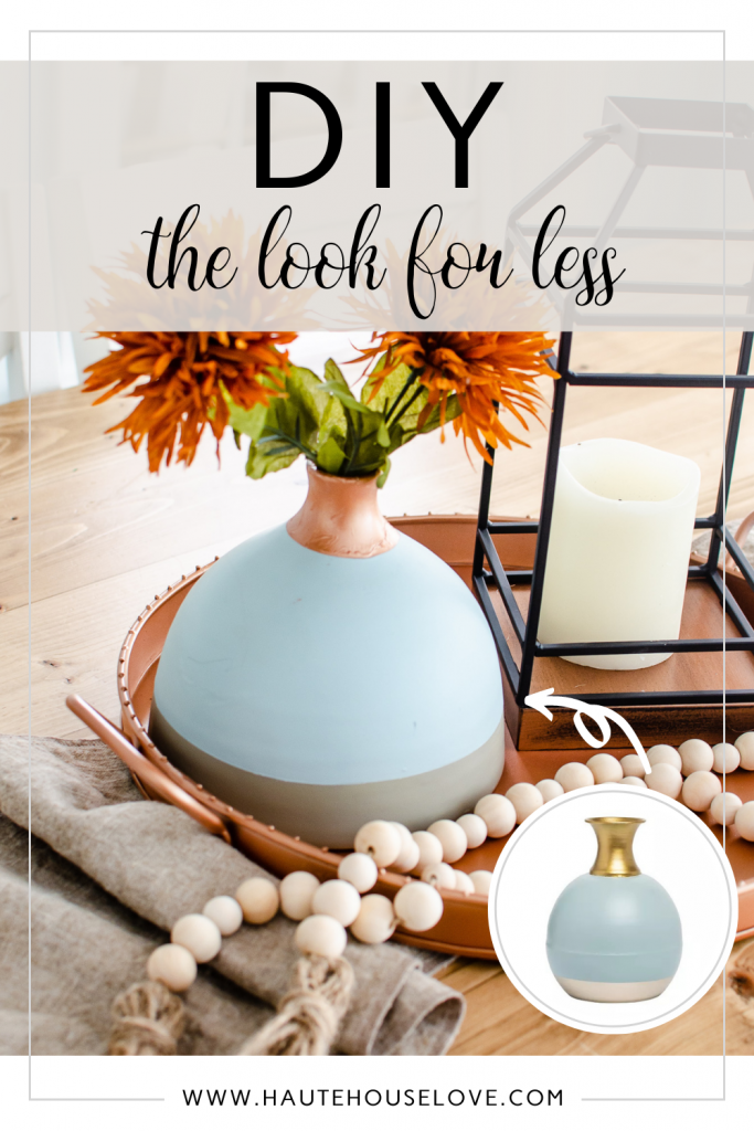 DIY Look For Less Fall Vase