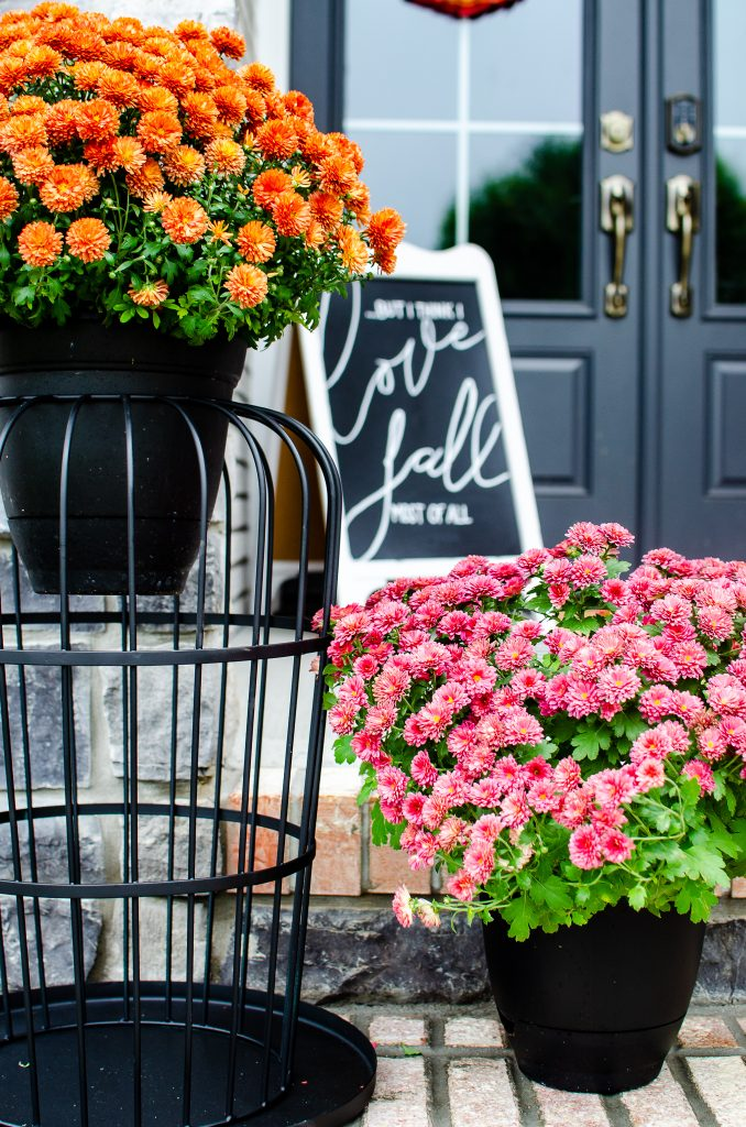 Wait Until You See This Fall Front Porch