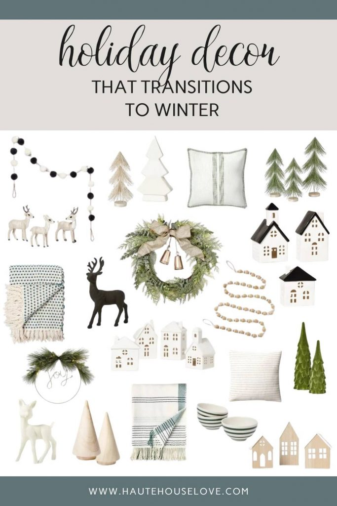 Neutral Holiday Decor From Target
