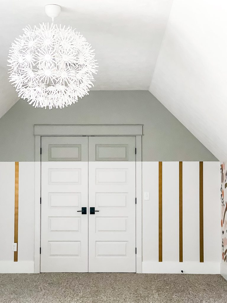 PLAYROOM WALL WITH DOORS