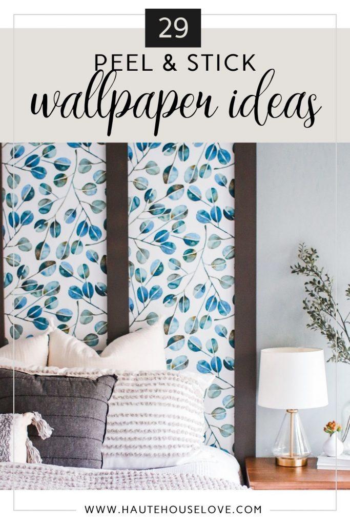 29 peel and stick wallpaper ideas