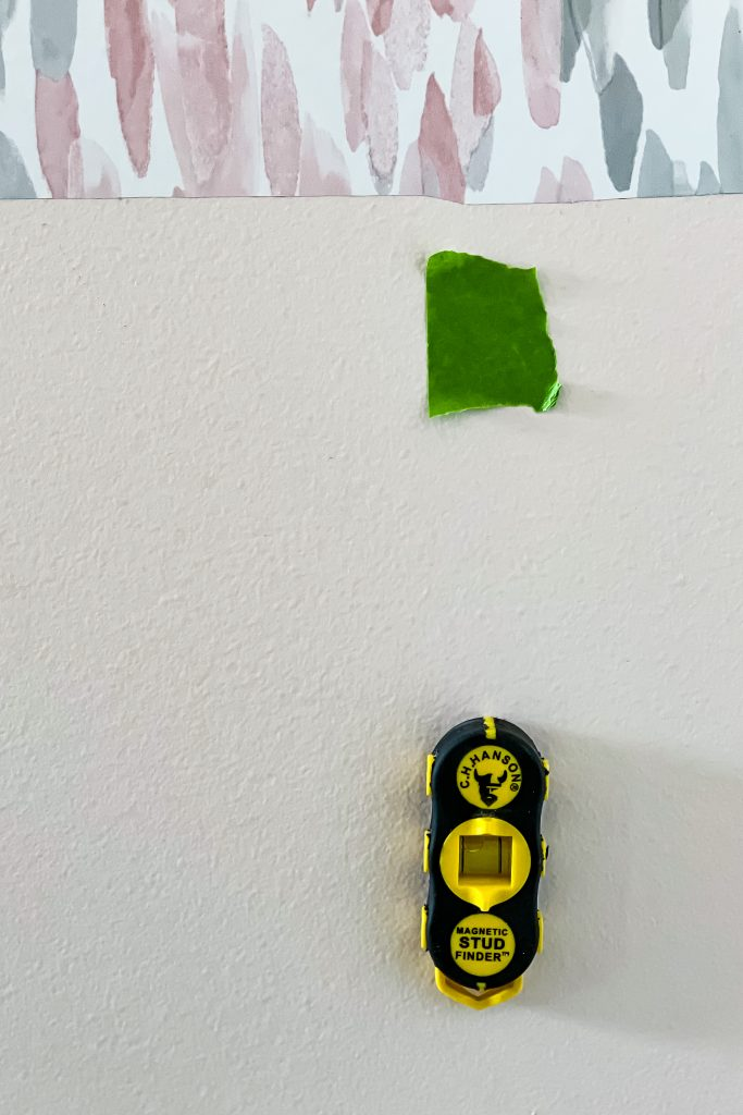Stud Finder for Beginner DIY Projects on HauteHouseLove.com