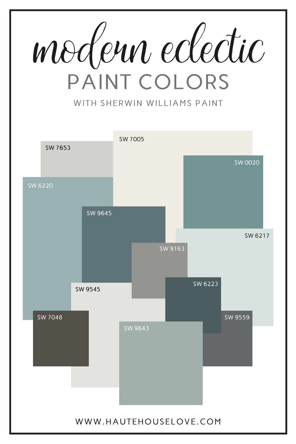 Paint Colors In Our Modern Eclectic Home Haute House Love