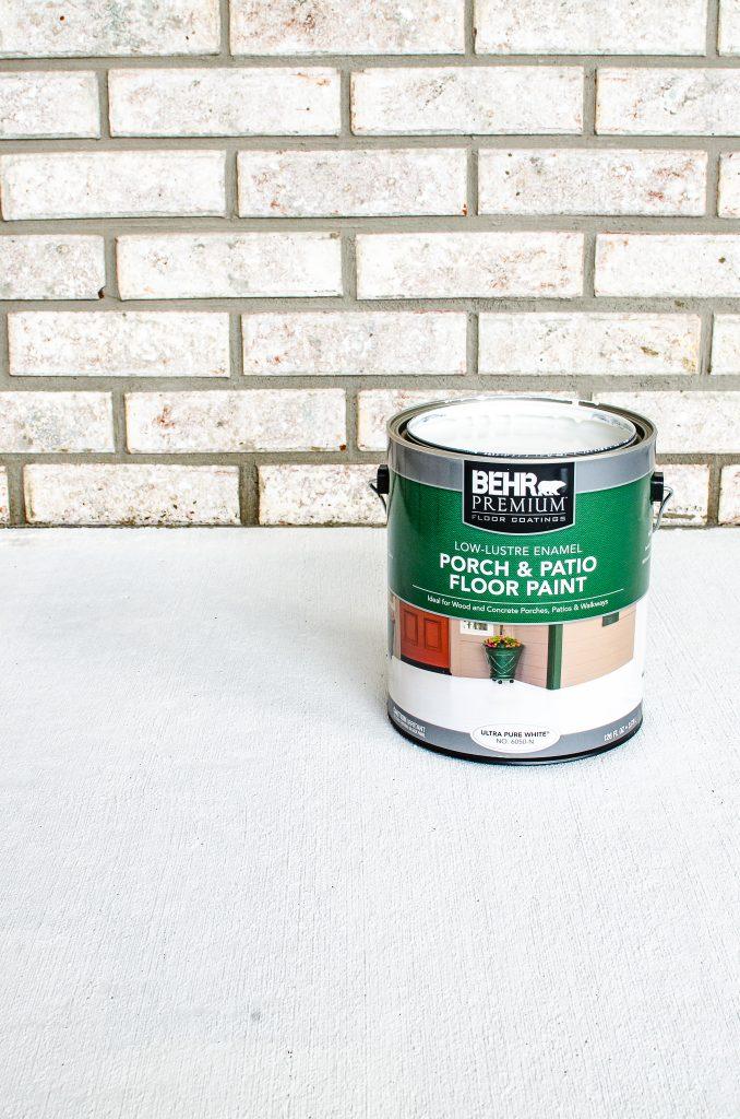 behr patio floor paint for painting concrete porch