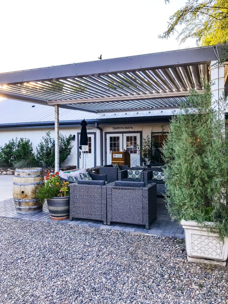 Page Springs Cellars tasting room is a small batch winery, community-driven and sustainability-produced in Sedona, Arizona | HauteHouseLove.com