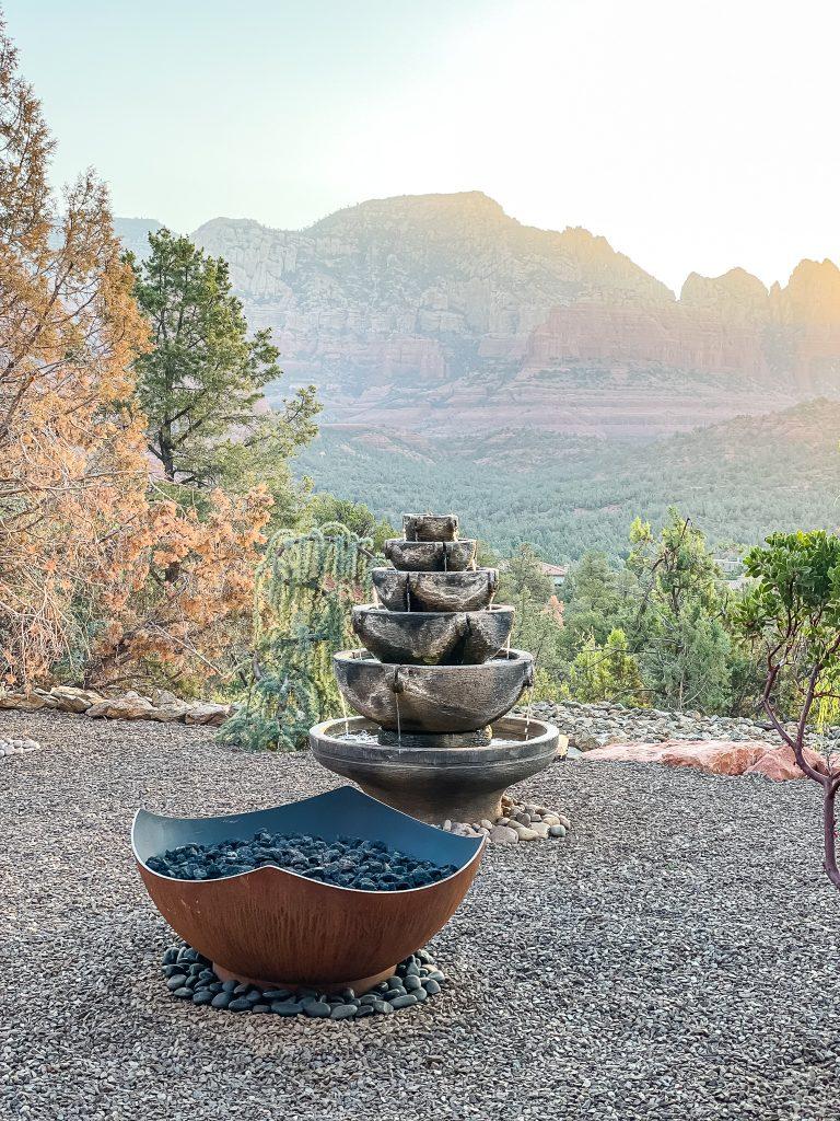 Tranquil and relaxing scene in Sedona, Arizona | Found on HauteHouseLove.com