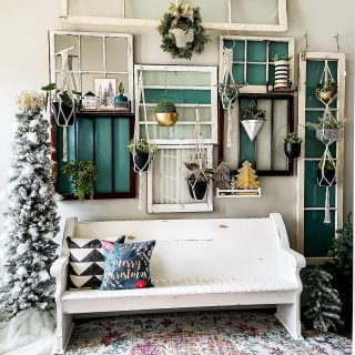 Poll time!!   How many trees do you put up for Christmas??   Our first one went up today and I'm so here for it!   Little bitty holiday refresh in our entry today plus two ways to do super simple holiday bows in stories!   #entrywaydecor #livingwithplants #livingwall #holidaydecor #christmastrees #modernvintage #vintagemodern #swcolorlove #iheartthishaven #christmasismyfavorite #foyer #foyerdecor #plantmama #plantwall #holidaybows #eclectichome #windowwall #christmasseason #novembertoremember #mycolorfulhome #plantparenthood #houseplantlove #houseplantcommunity